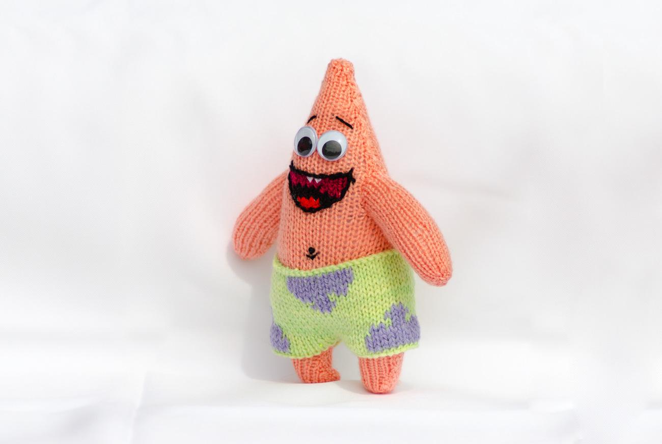 Patrick l toile de mer le mouton qui tricote - Patrick l etoile ...