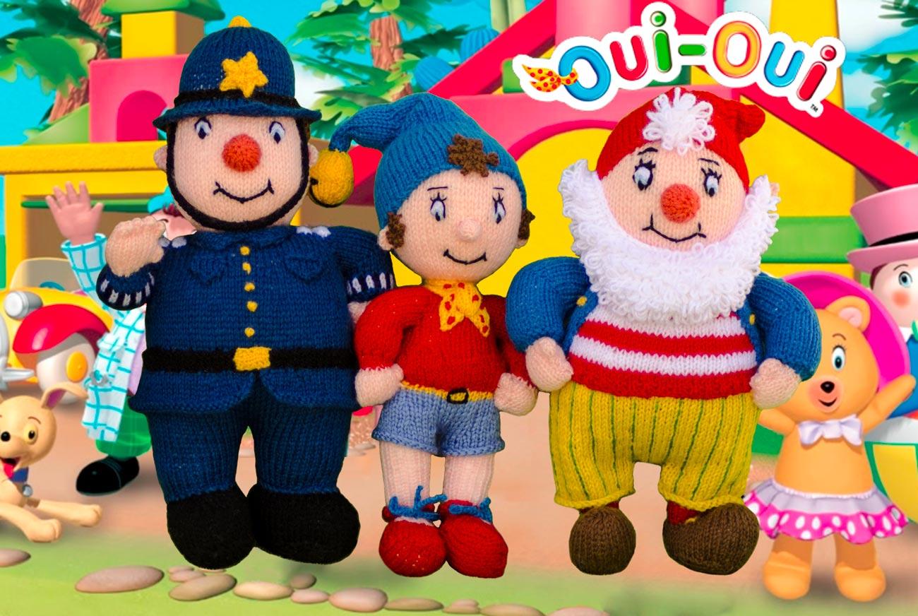Oui oui et ses amis au pays des jouets le mouton qui tricote - Personnage dans oui oui ...